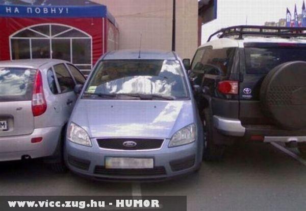 Ez parkolás!