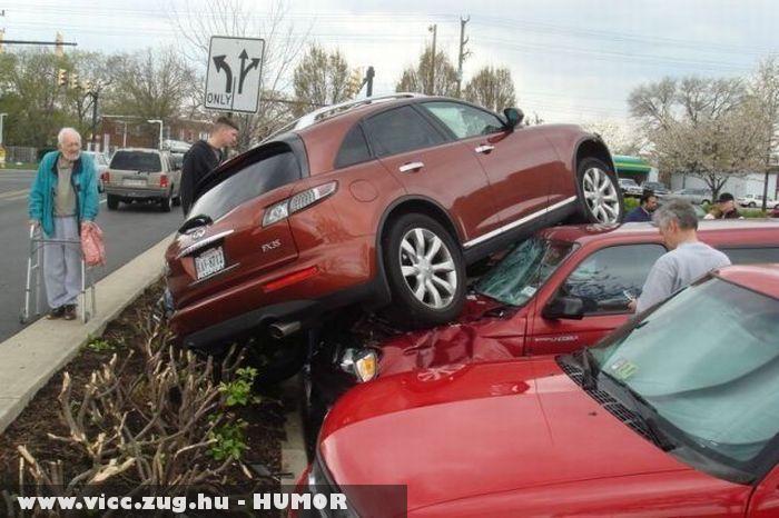 Nem volt parkolóhely