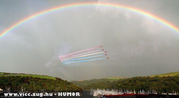 Summer over the rainbow
