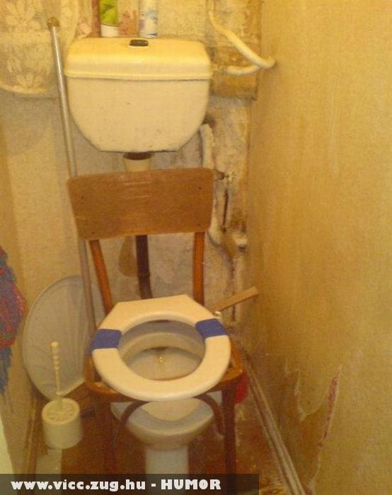 Kényelmes WC