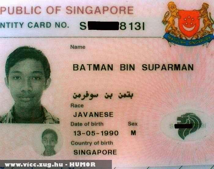 Batman bin Suparman - az igazi hõs
