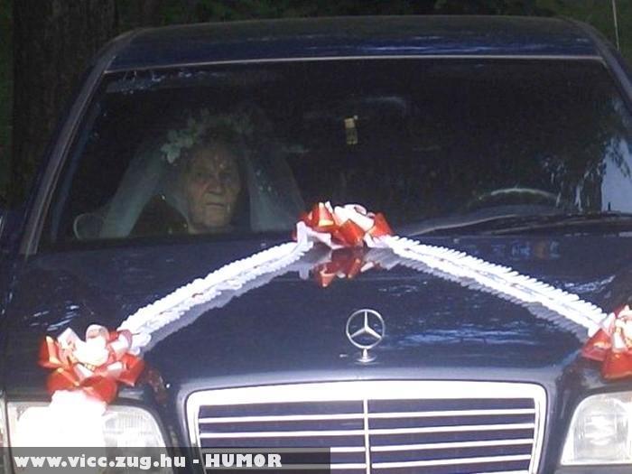 Öreg asszony nem vén asszony, ha férjhez megy csak menyasszony