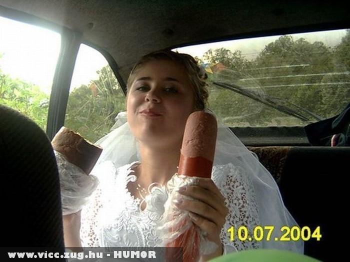 Kiéhezett menyasszony