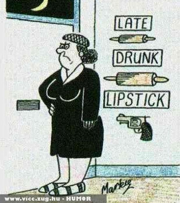 Késik, ittas, rúzsfoltos - veszélyes lehet hazaérkezni!