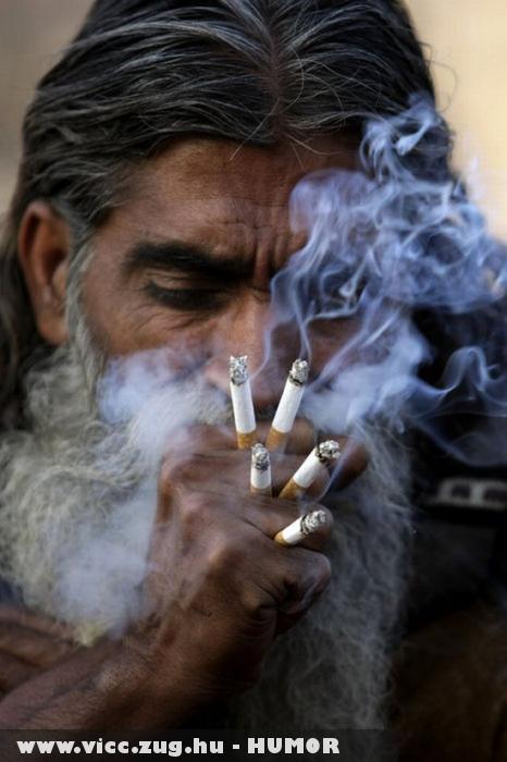 Ez az igazi nagy dohányos