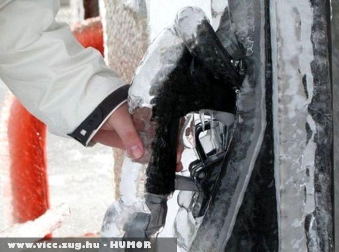 Zord hideg az Oroszoknál