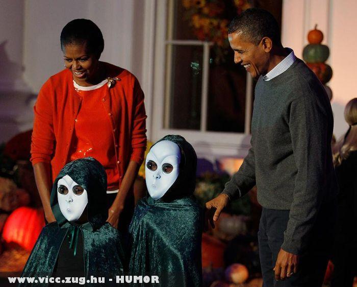 UFOK látogatták meg Obamát