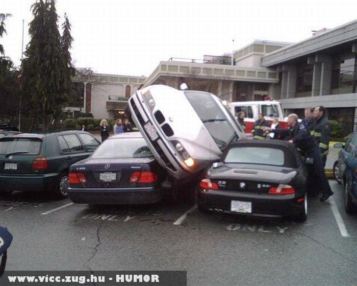 Sikerült a parkolás