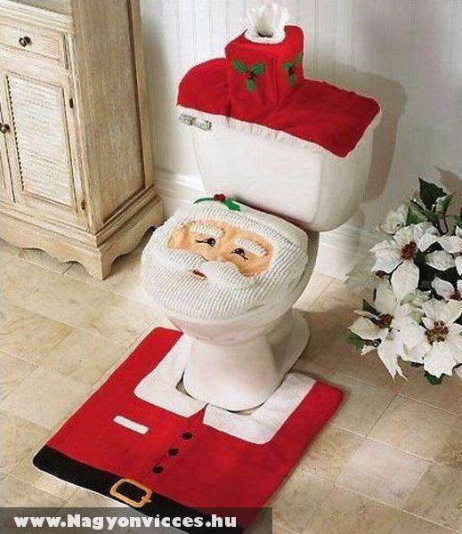 Mikulás fürdõszobája