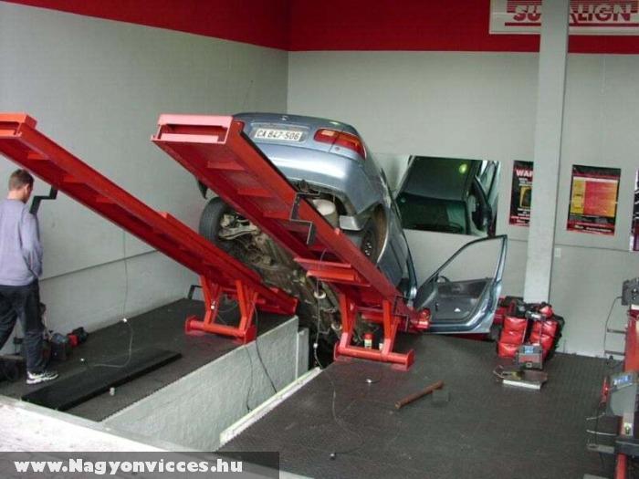 Nem túl sikeres parkolás