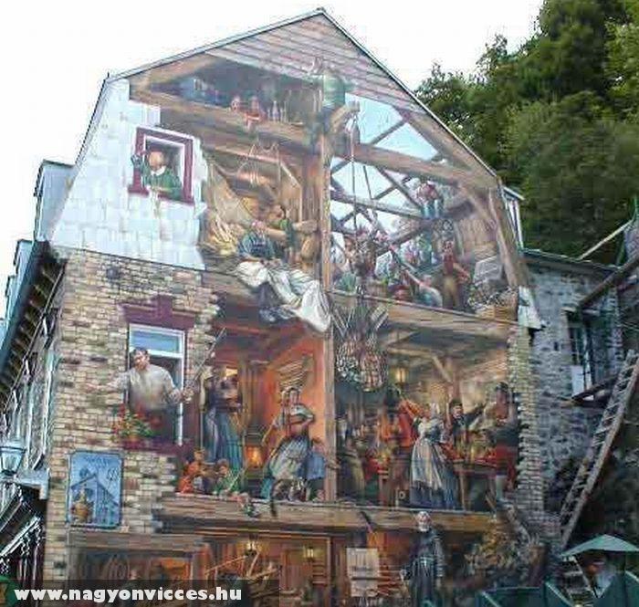 Graffiti mûvészi szinten