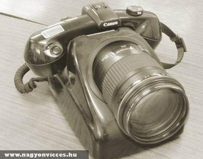 A kamerás telefon õse