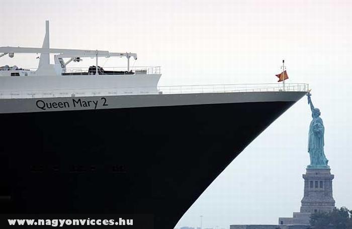 Megállította a hajót