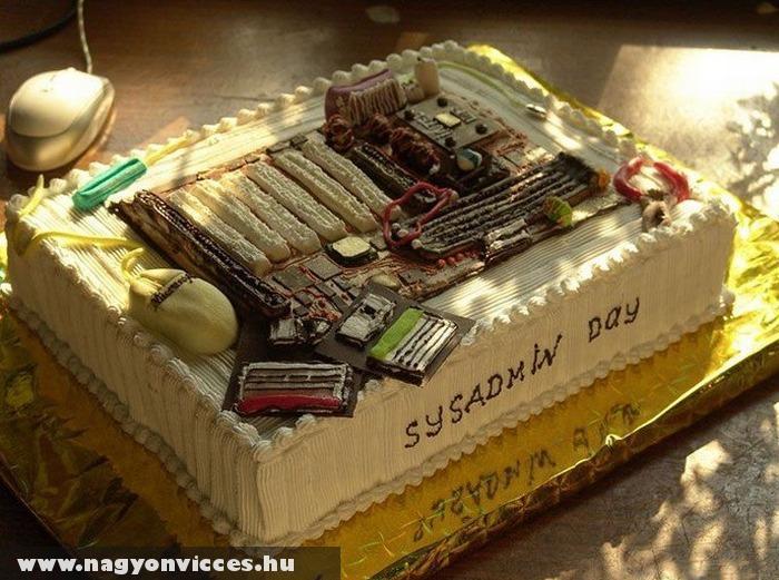Torta rendszergazdáknak