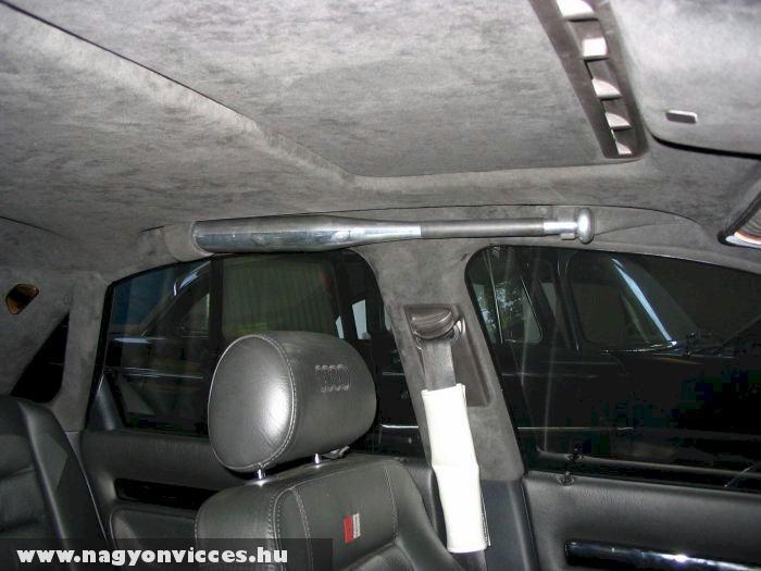 Extra felszerelés luxus autókba