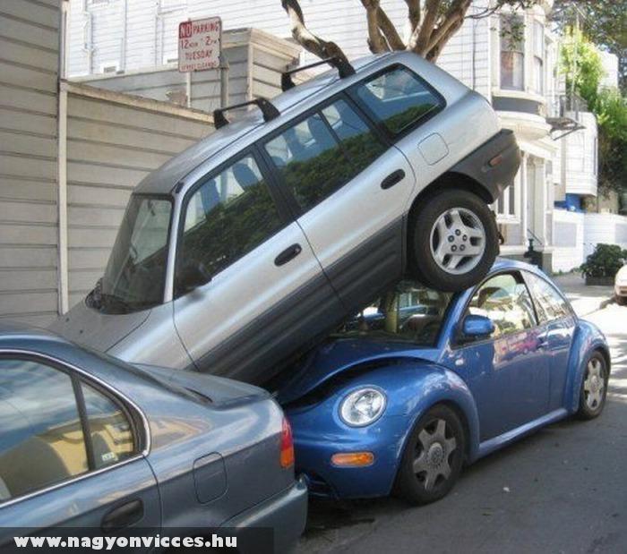 Medoldotta a parkolóhely hiányt