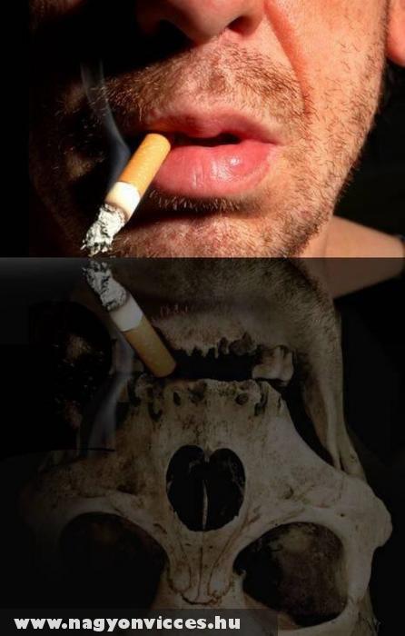 A dohányzás halált okozhat
