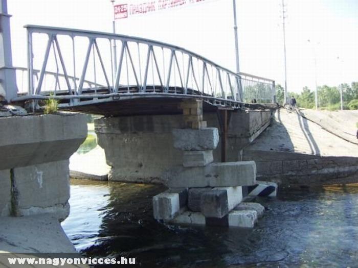 Életveszélyes híd