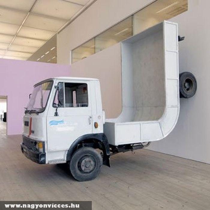 Félcsõhöz való teherautó