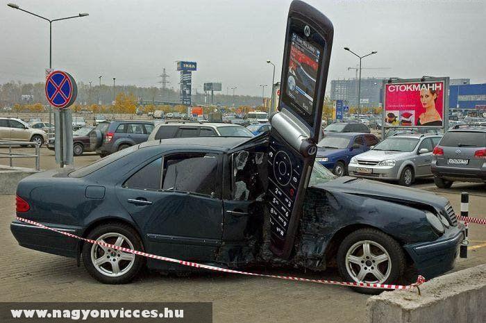A kocsi és a mobil