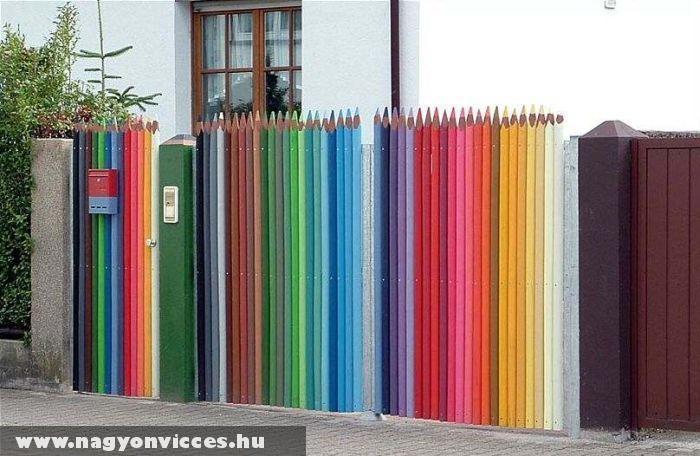 Ceruzából kerítés