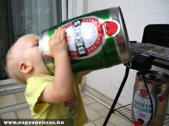 A gyerekek is szeretik a sört