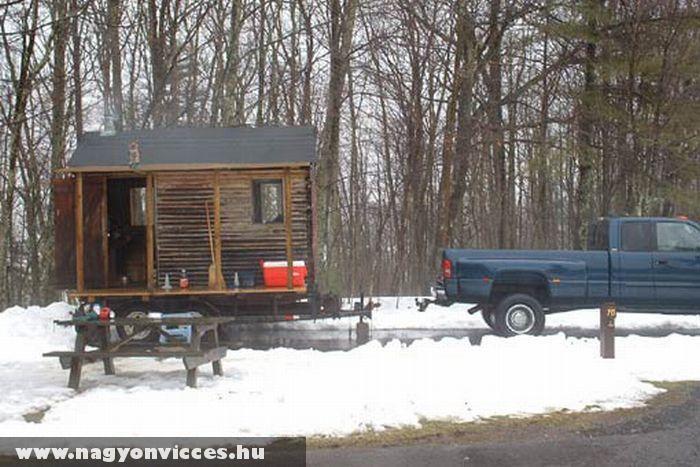 Az igazi lakókocsi