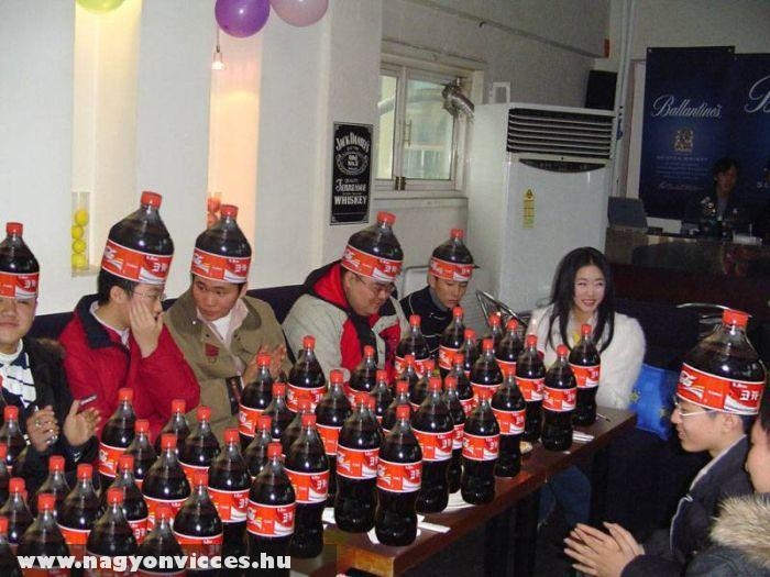 Coca-cola fanatikusok