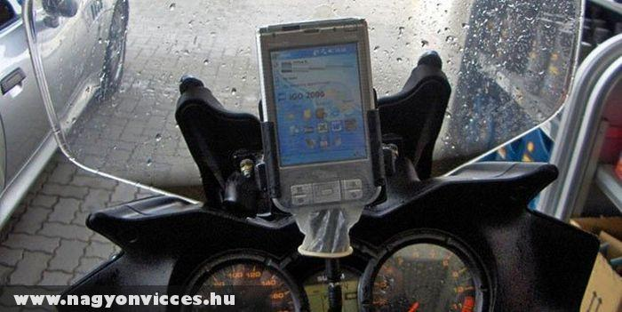 Vízhatlan GPS