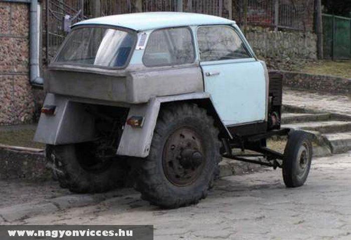 Trabi traktor