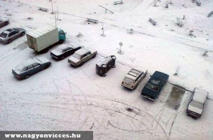 Parkolóhely spórolás