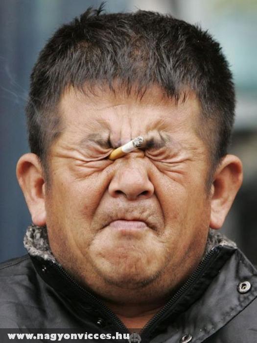 Dohányzó ember