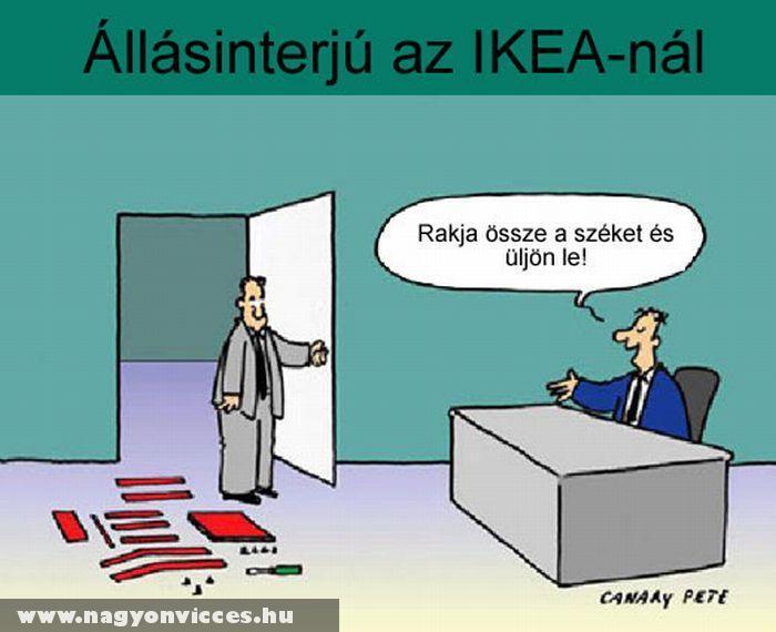 Casting az IKEA-nál