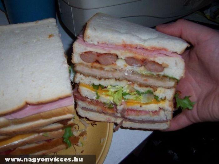 Mega szendvics