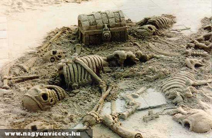 Homokból csontváz