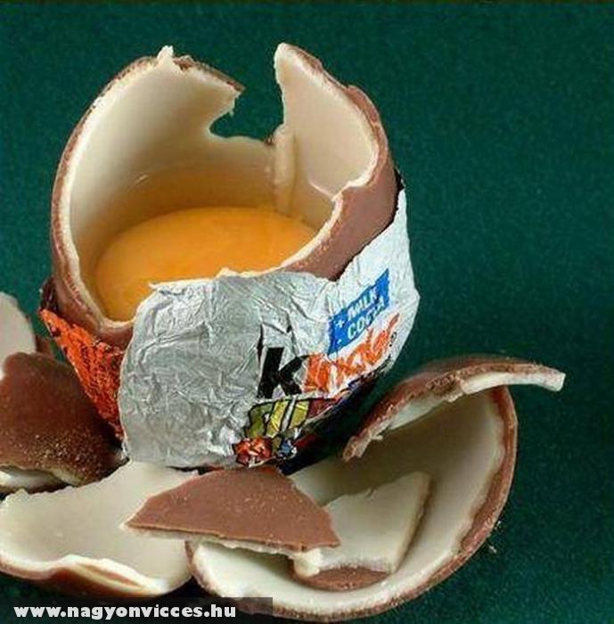 Az igazi kinder tojás
