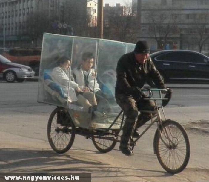 Üveg taxi