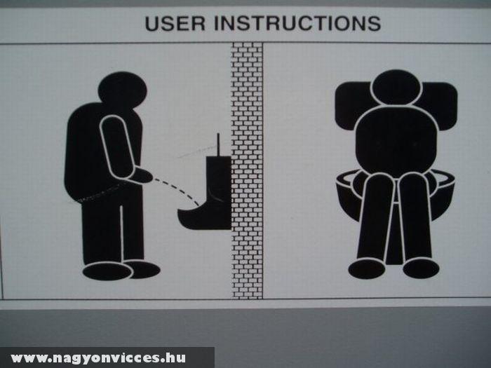 WC használat