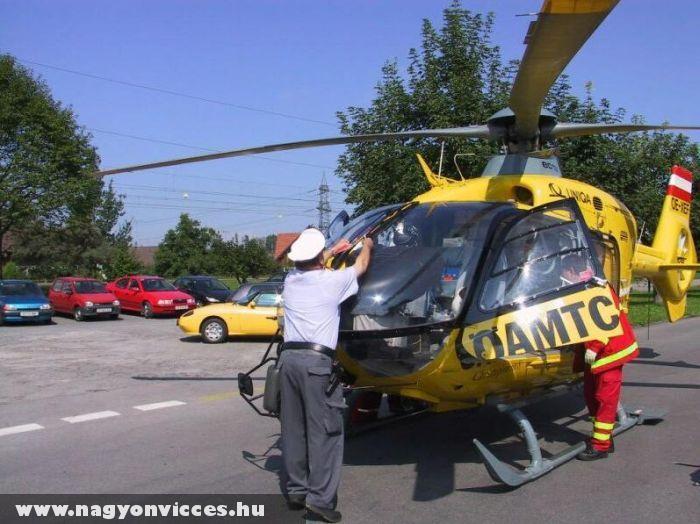 A helikopter sem kivétel
