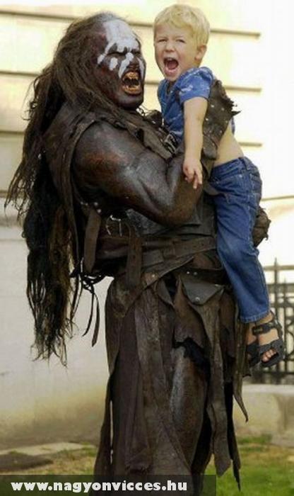 Uruk-hai babysitter