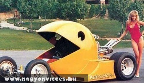 Pacman mobil