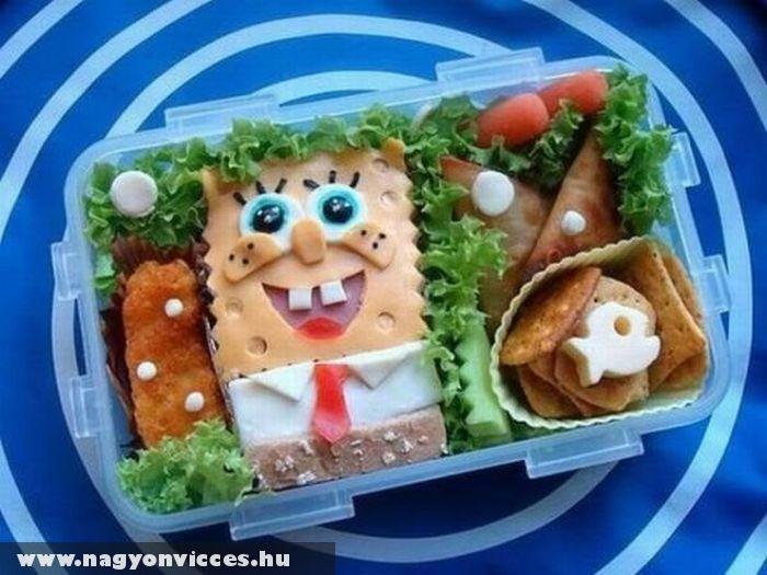 Spongya Bob menü