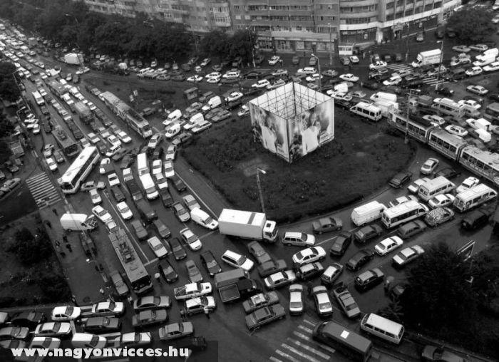 Közlekedési káosz