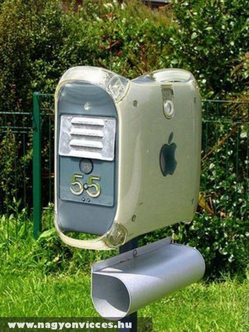 Apple postaláda