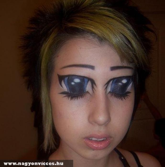 Festett szemek