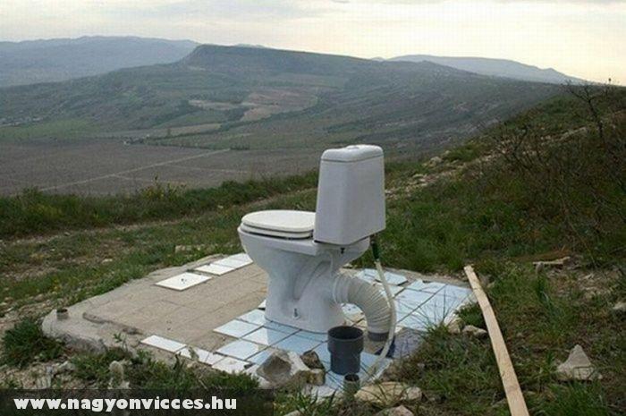WC a szabadban