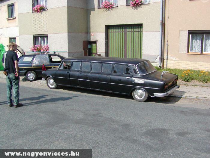 Old school limo