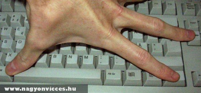 Mekkora kéz, próbáld ki!