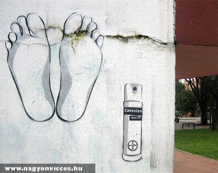 Canesten graffiti
