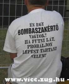 Bombaszakértõ !